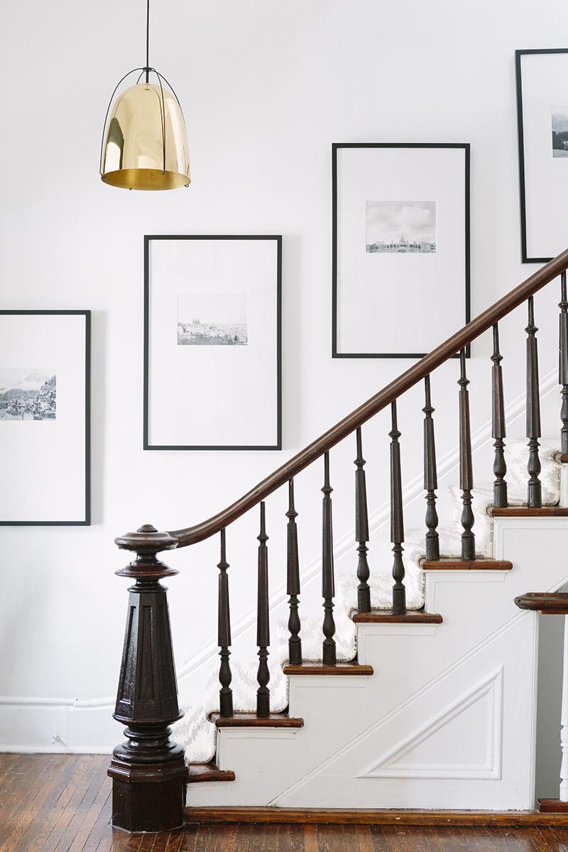 assymetric mats staircase art