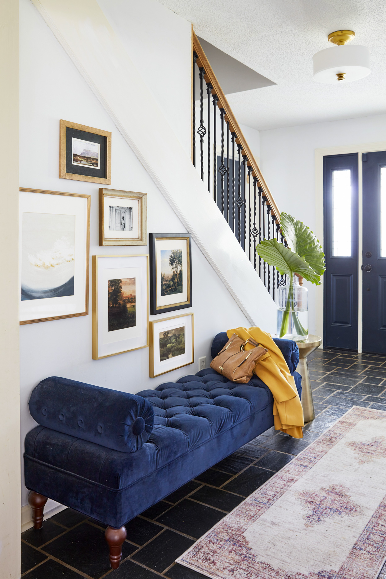 10 Art Arrangements for Your Staircase Wall Space